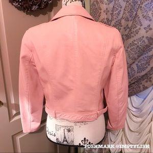 Zara Jackets & Coats - 🆕 ZARA Leather Effect Moto Jacket RARE SOLD OUT!